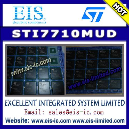 STI7710MUD - STMicroelectronics - Single-chip, low-cost high definition set-top box decode