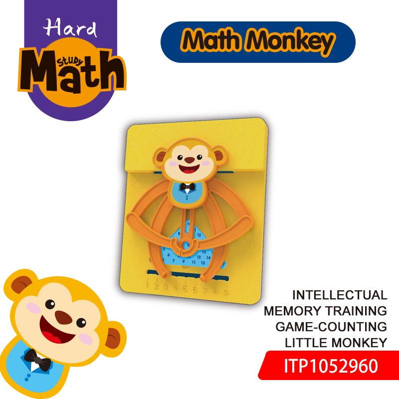 PT Intellectual memory training game-counting little monkey