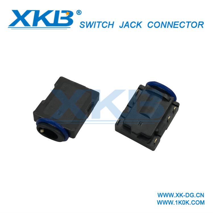 Factory direct headphone jack / 3.5mm / patch oblique type / sink plate waterproof headset audio