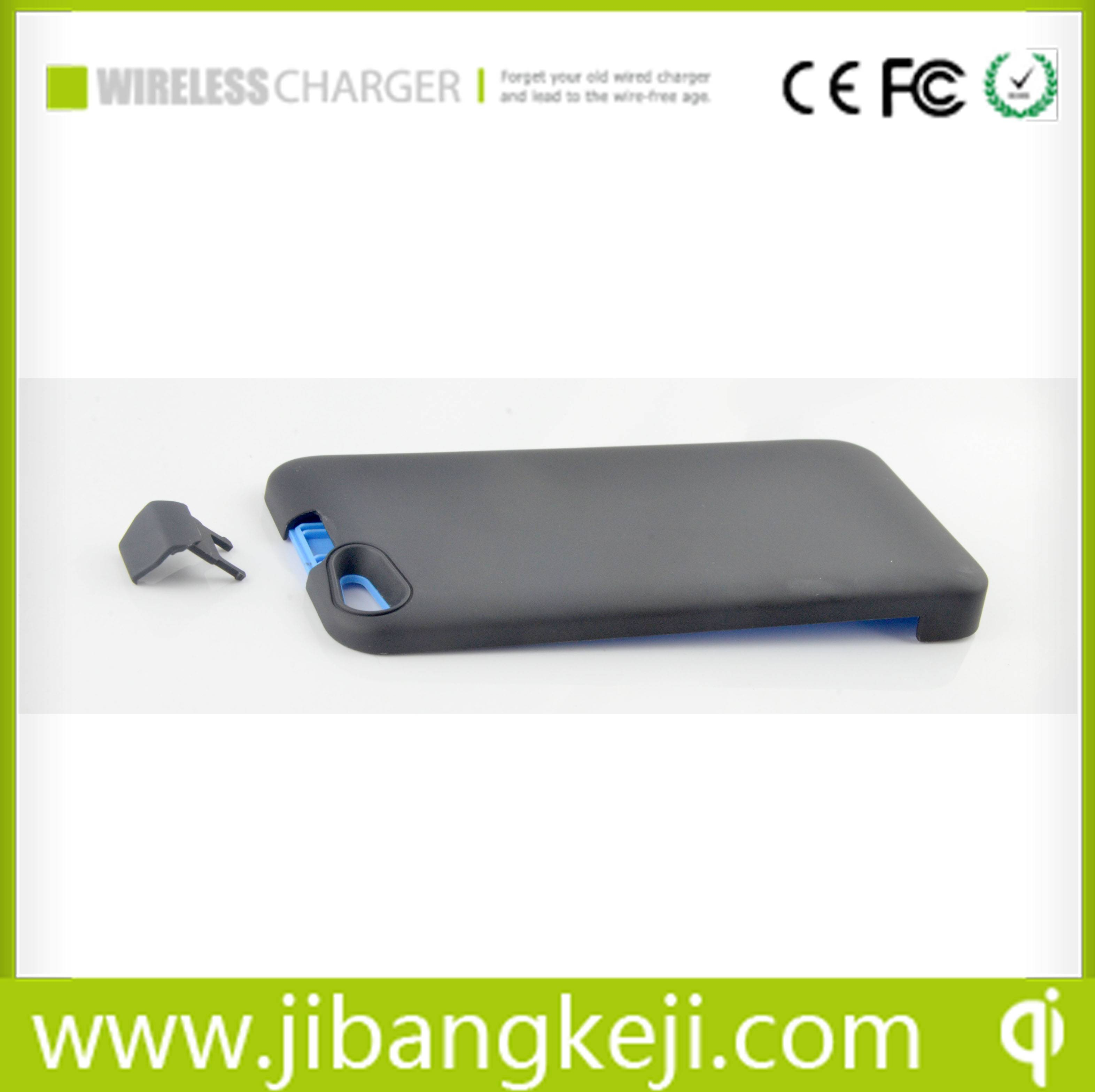 RC-I5P   Power Bank&Wireless charger Receiver for iPhone5 (QI standard )with 2200mah extral battery