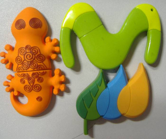 gecko USB flash drive