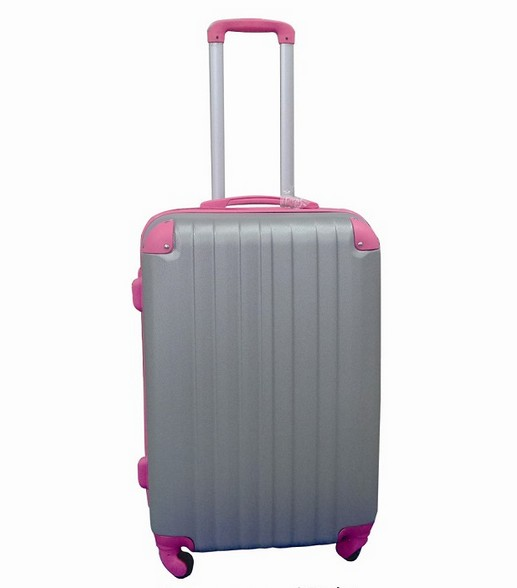 high quality luggage with wheels travel trolley case boarding case
