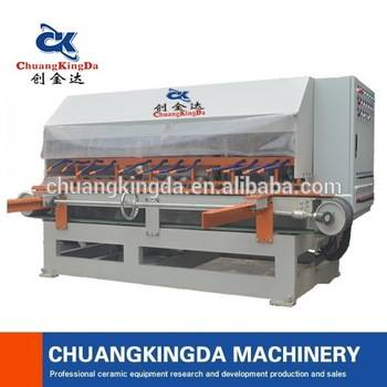 ckd type automatic stone tile squaring & chamfering machine
