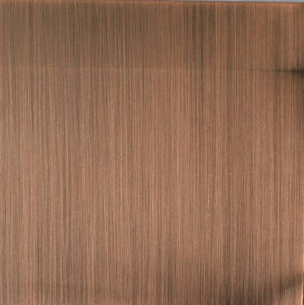 Rose Gold Color Stainless Steel Sheets Plate
