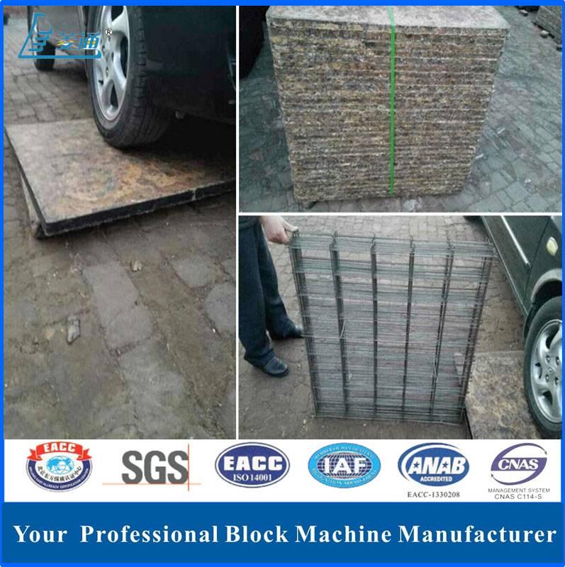 Factory Price Plastic Wooden Pallet for Concrete Brick Block Making Machine
