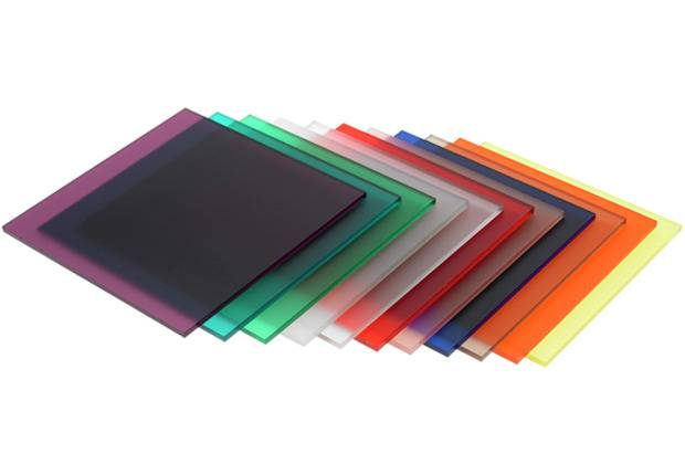 high quality matt colored acrylic sheet