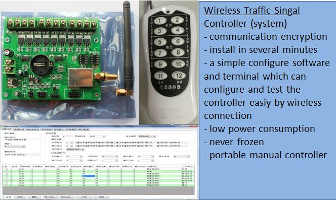 wireless traffic signal controller