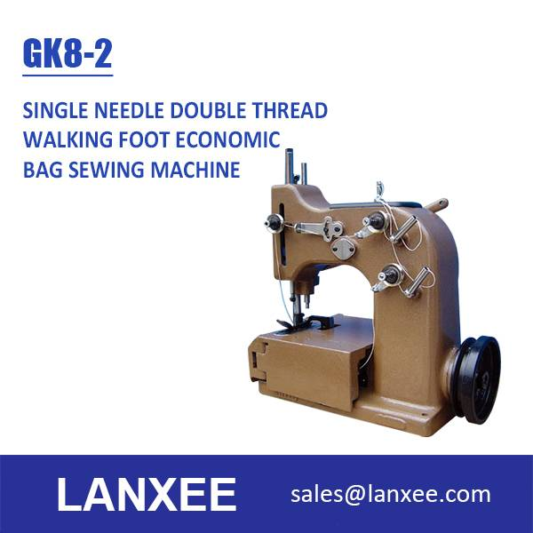 Lanxee GK8-2 Single Needle Double Thread Bag Making Machine