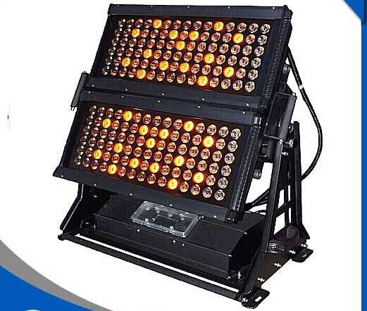 180PCS 5W IP65 Waterproof RGBWA Double Head LED Wall Washer with flightcase 10%off Free Shipping