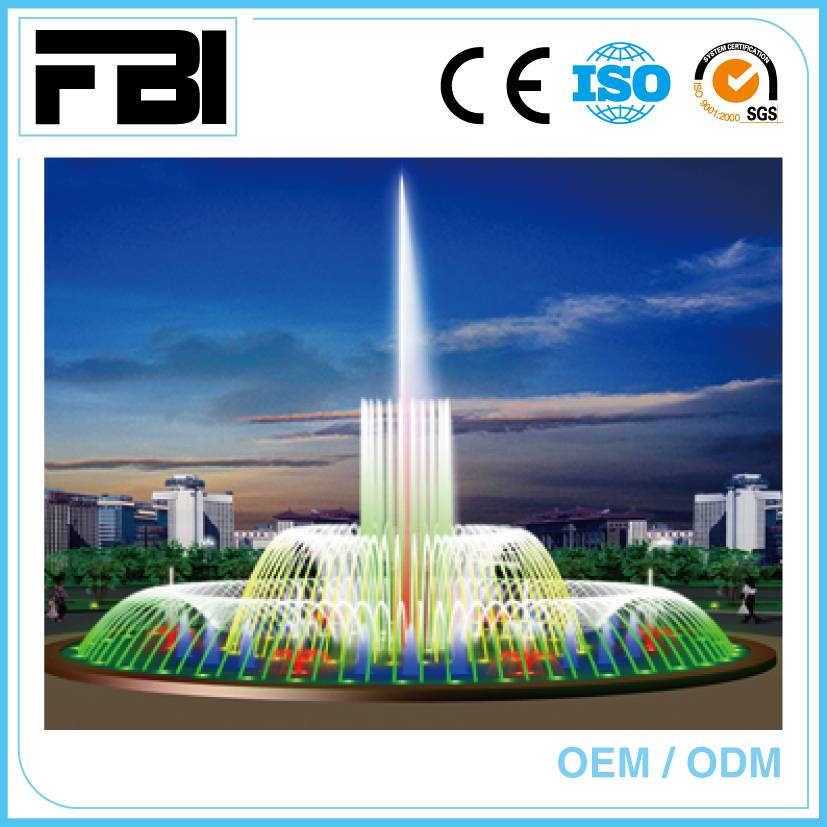china made music dancing fountain, customized fountain