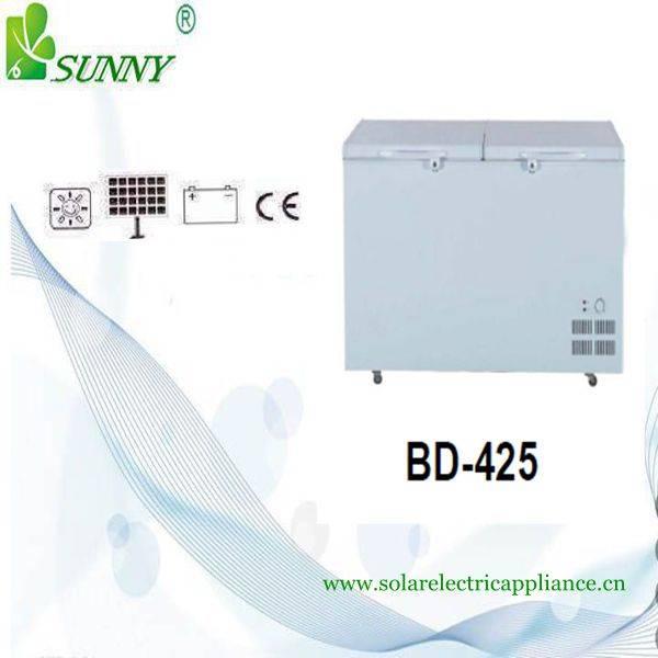 Enviroment-Friendly Solar Freezer