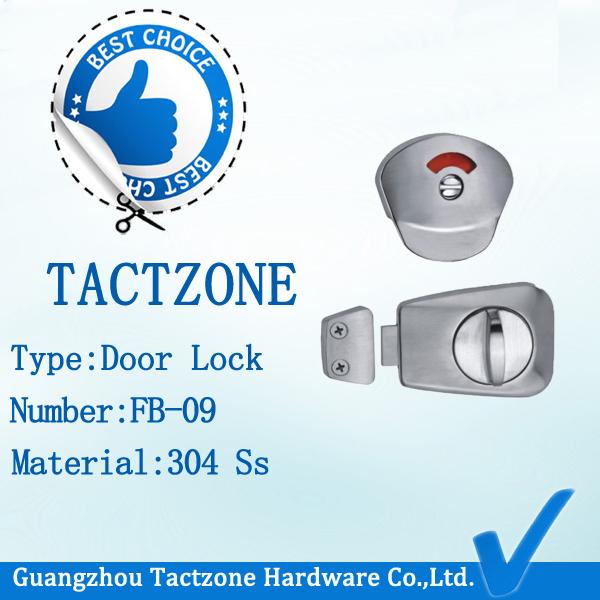 Good Quality Waterproof Toilet Partition Accessories Door Lock