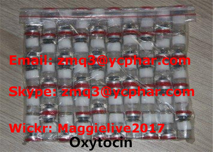Oxytocin 2 Mg/Vial Human Growth Hormone Powder For Muscle Building CAS 50-56-6