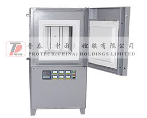 PT-M1700 vertical muffle furnace