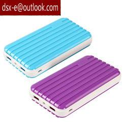 suitcase 13000mah power bank for travel