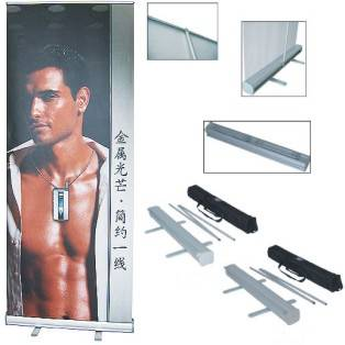 banner stand, roll up banner stand