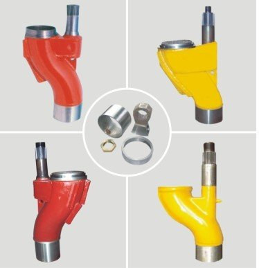 High quality Construction tractor spare parts of anti-wearing and impact resistance S valve Concrete