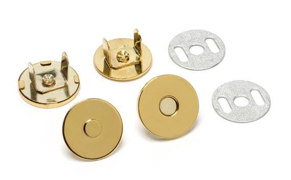 Extra thin magnetic snap fastener for sale