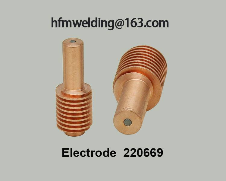 Electrode 220669 compatible parts for power max 45,plasma cuting welding
