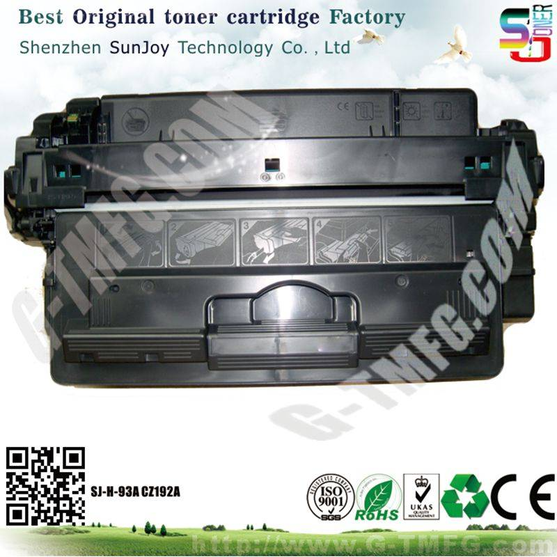 Sunjoy 93A toner cartridge CZ192A compatible for HP  laserjet Pro M435 M701 M706