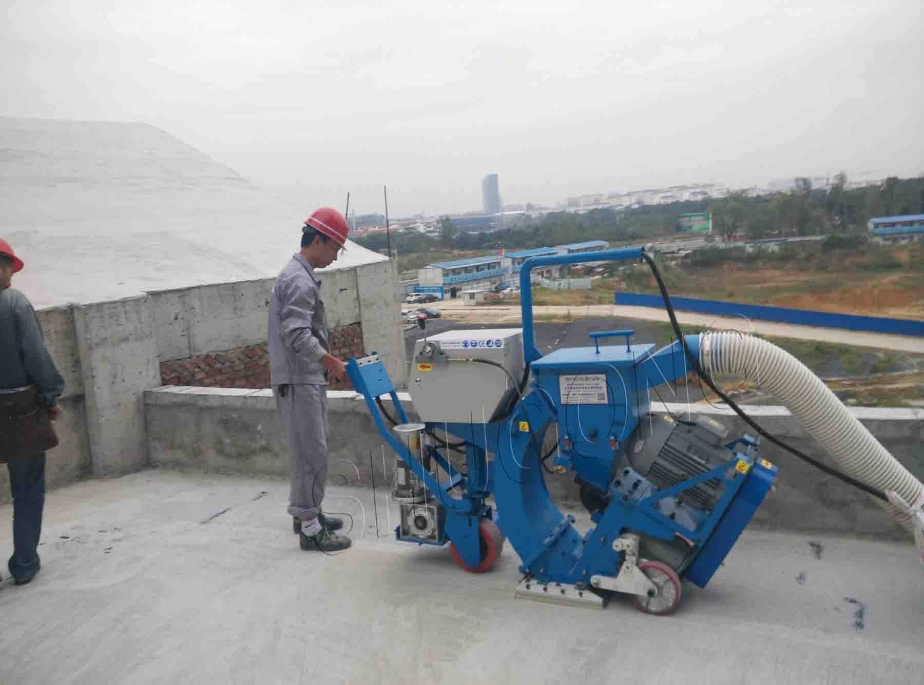 Small floor shot blasting machines for sale