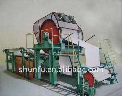 1092 Model Writing Paper Machine