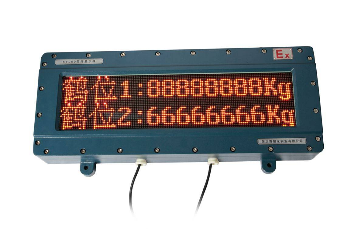 explosion proof LED Display, anti-explosion industrial use LED display