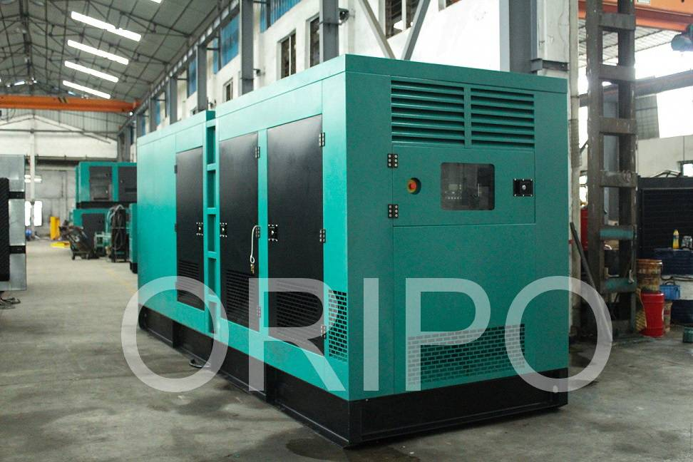 500KW Cummins diesel generator set with high quality alternator