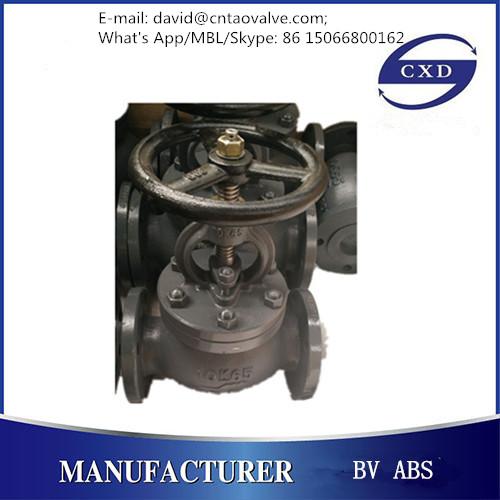 JIS marine cast iron globe valve