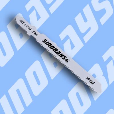 T Shank HSS BIM Jigsaw Blade for Metal cutting