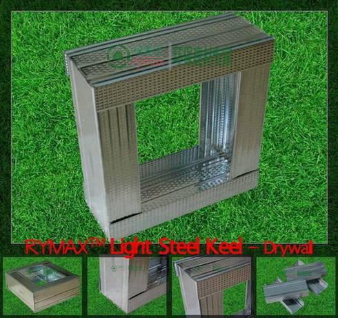 RYMAX Drywall Chanel/Stud | Light Steel Keel | Wall Partition