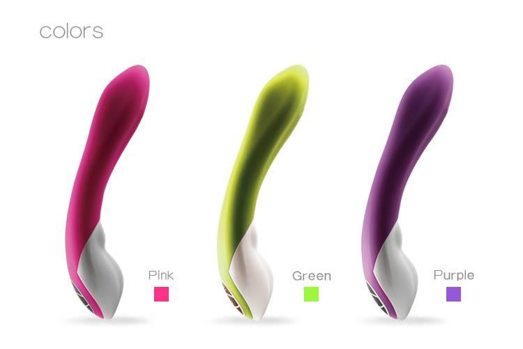 Multi-speed sex product G-spot rabbit vibrator for female for 2014