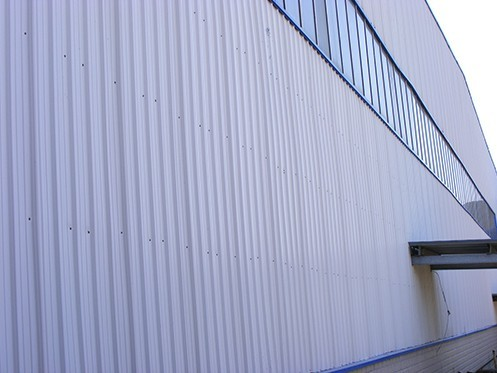 white color upvc material for wall cladding