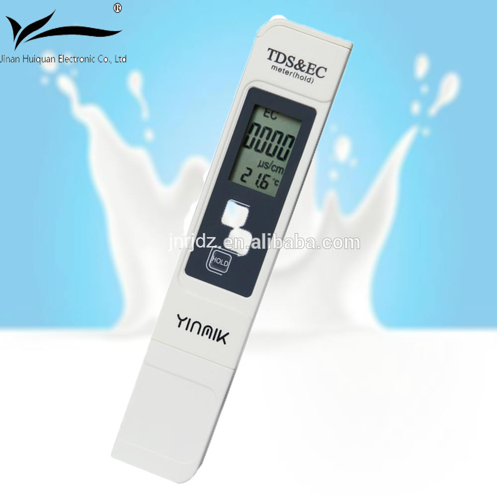 The hot item test pen tds meters tds and chlorine tester with CE ROHS Certification tds glass electr