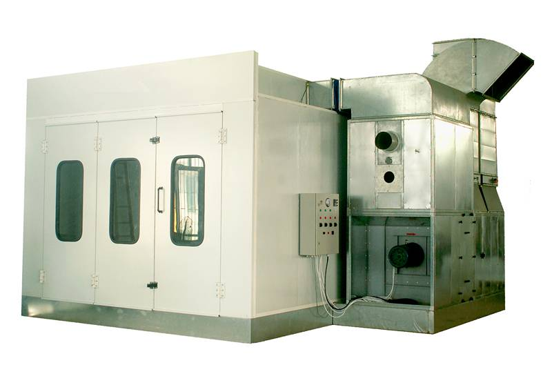 Water-Based Spray Booth for Car with PLC Control Syetem