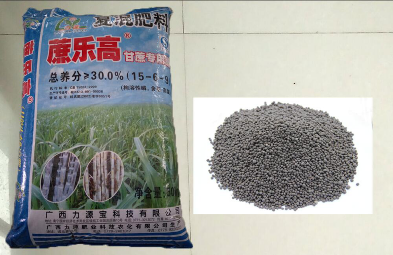 Zhelegao Intelligent ecological formula fertilizer for sugarcane