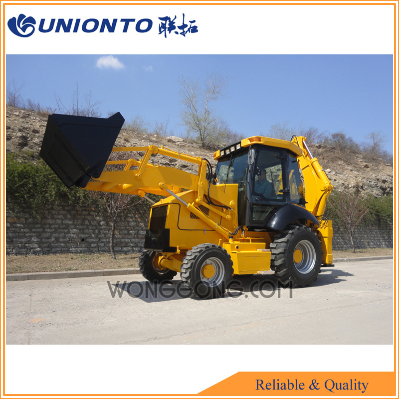 farm tractor front loader backhoe for sale/UNIONTO 388 backhoe loader