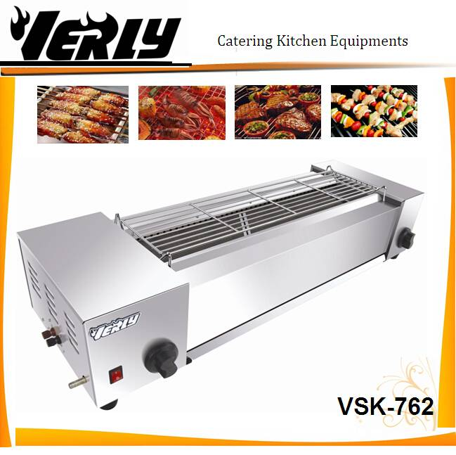 Hot sale Commercial Anthracitic Gas Barbecue Oven / BBQ Oven with fans