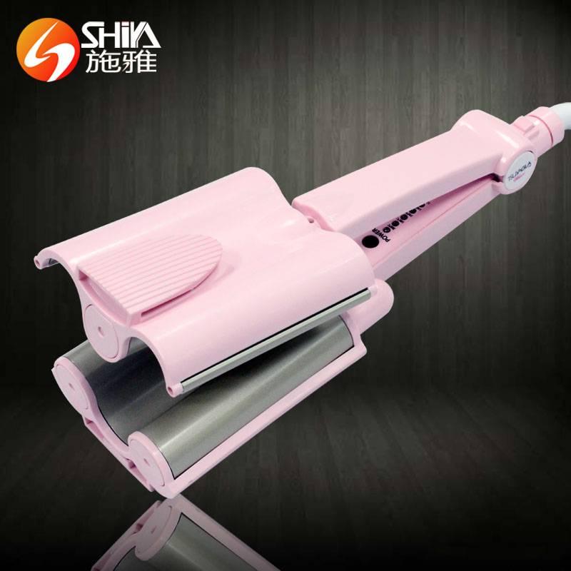 Professional tourmaline triple barrel hair curling irons salon newset design hair curler machine