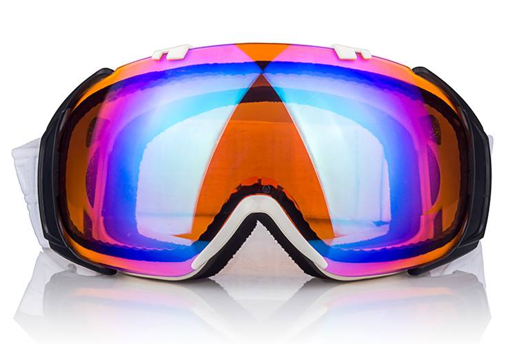 UV 400 PC racing snowboarding goggles
