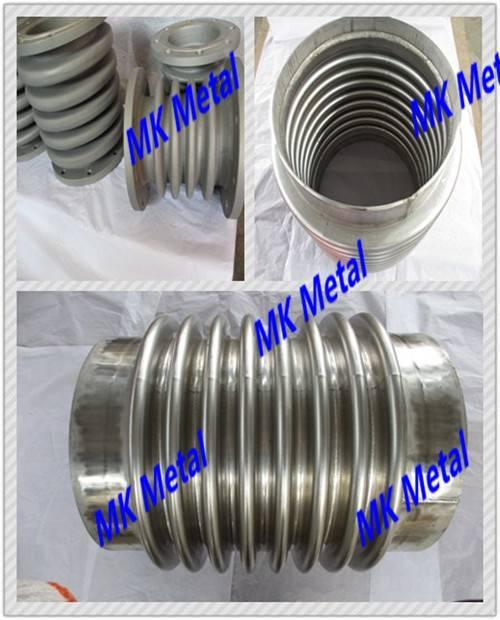 Grade 5 ASME B16.9, ASME B16.5 Titanium and titanium alloy corrugated pipe