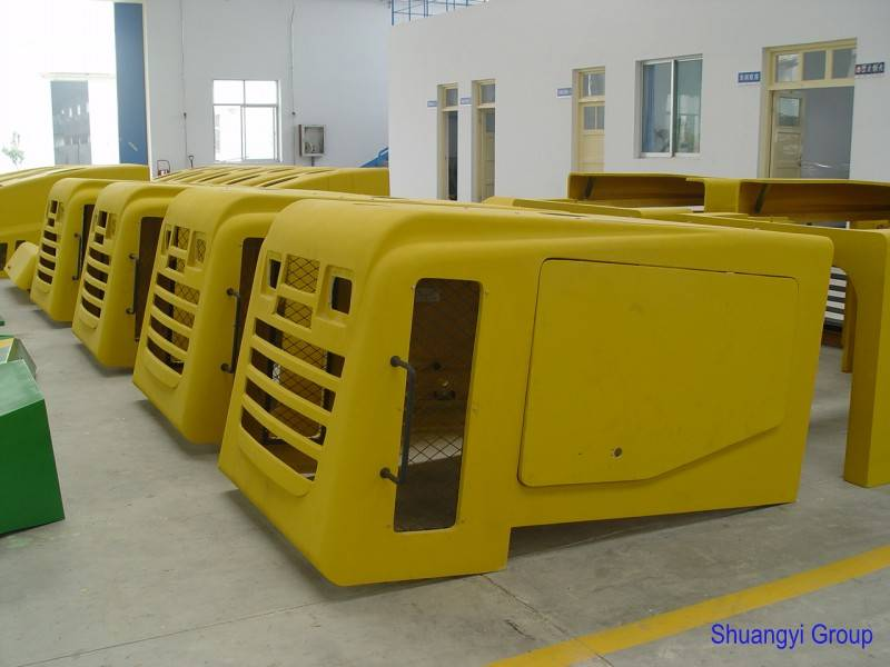 FRP engineering truck cover