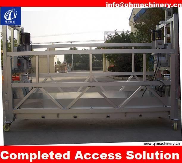 Aluminum Swing Stage Platform 630kg load/6m lenght
