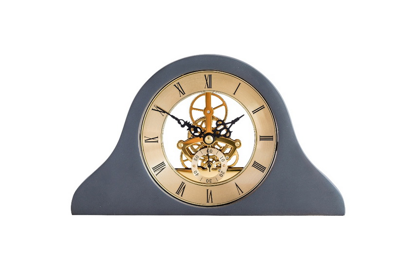 10'' mechanical gear mantel clock