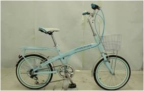 """20"""" city bicycle with shimano 7 speed derailleur"""