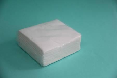 1 Ply White 8 fold Napkins
