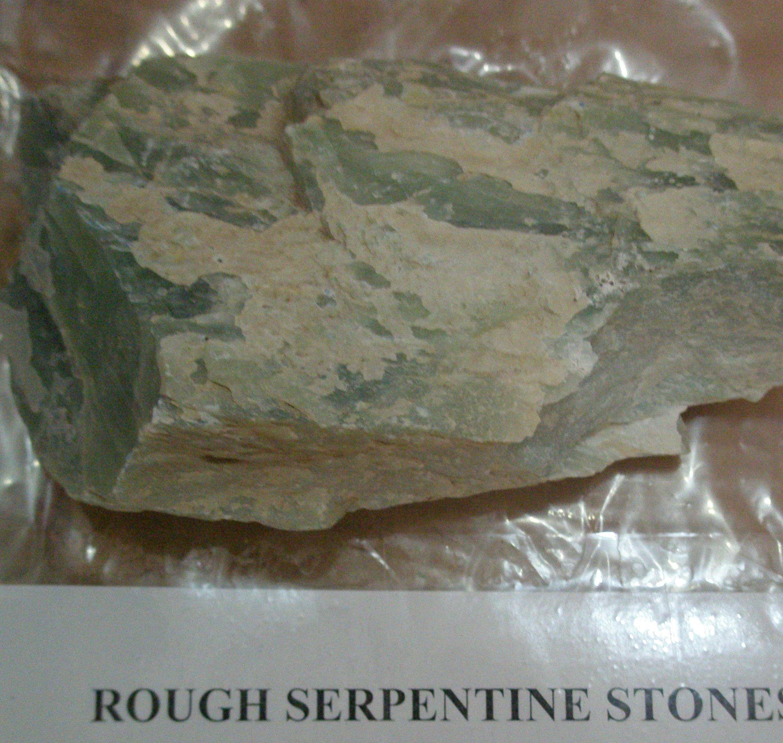 Rough Serpentine Stones