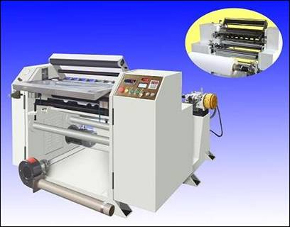 Carbonless Paper Roll Slitting Machine