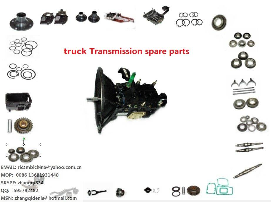 transmission gearbox spare parts