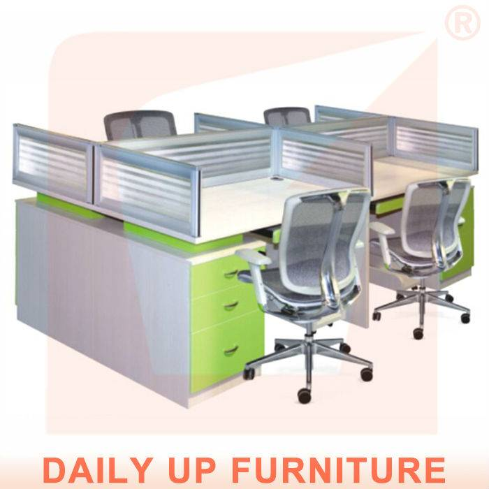 4 Divisions Wooden Office Desk Small Office Desk Size With Drawers Office Table Design Photos Office Daily Up Group Hk Co Limited Ecplaza Net